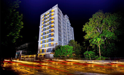 1, 2, 3 BHK Flats in Trivandrum